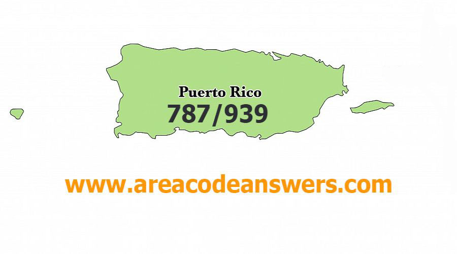 Puerto Rico Area Codes