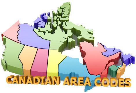 Canada Area Codes