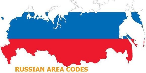 Russia area codes